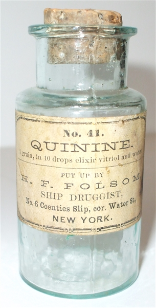 Civil War Medical Bottle