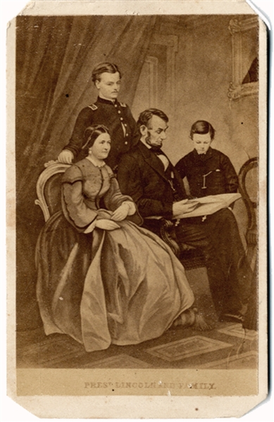 Pres't Lincoln and Family