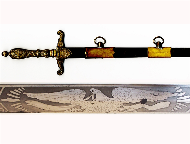 Medical Sword With Medal Scabbard