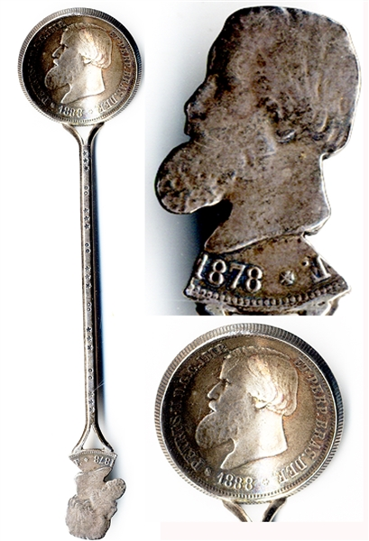 Brazilian Coin Spoon