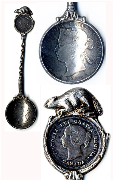Canadian Coin Spoon