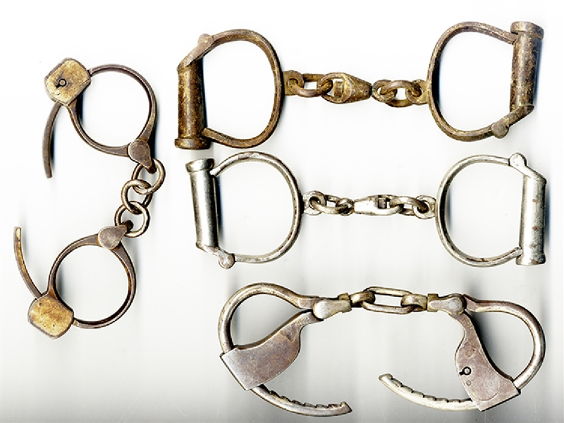 Four Sets of Shackles
