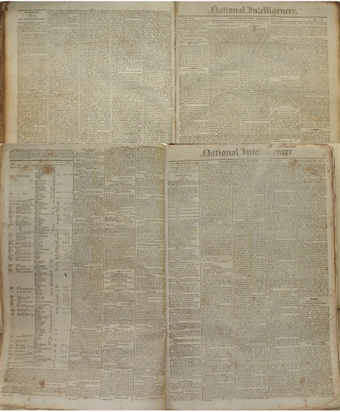 Washington City Newspaper - War of 1812