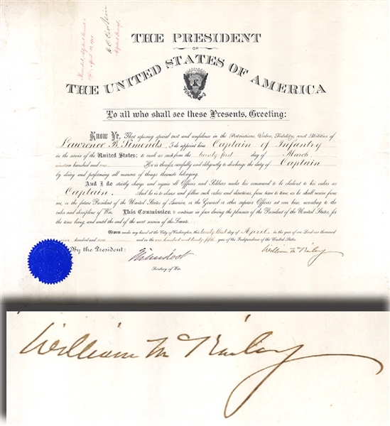 Another McKinley Military Document