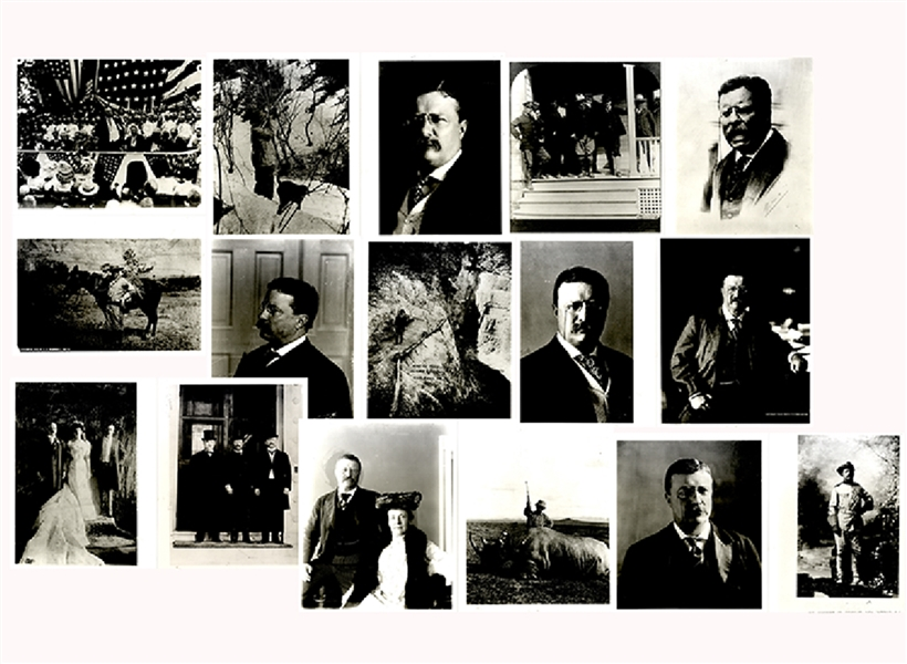 Theodore Roosevelt Press photo Archive
