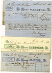Confederate shipping documents