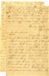 60th N.C. Infantry officer's letter