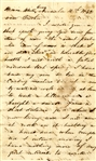 Anti-Negro and Emancipation Letter from Illinois Copperhead with Letter by Bruce Catton