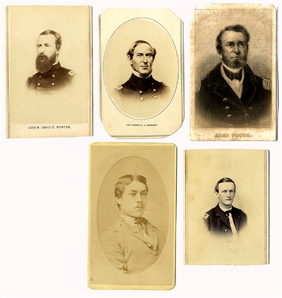 US Naval Officers and Ensigns in the Civil War