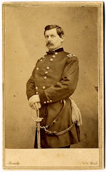 CDV of General George B. McClellan