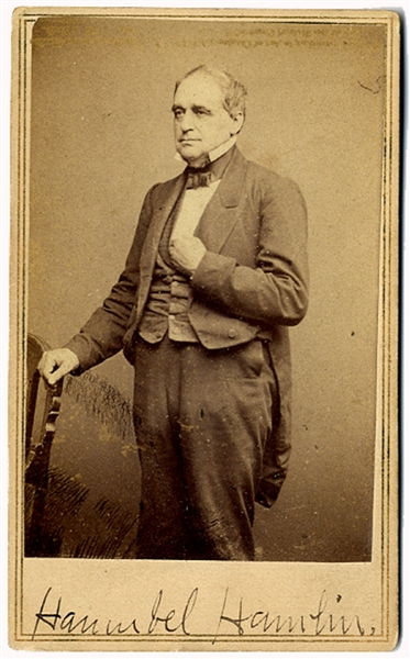 He Was The First Republican To Hold Office - Hamlin's increasingly anti-slavery views caused him to leave the Democratic Party for the newly formed Republican Party in 1856.
