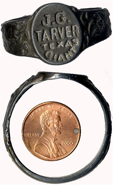 "Ring of the ""Texas Giant"""