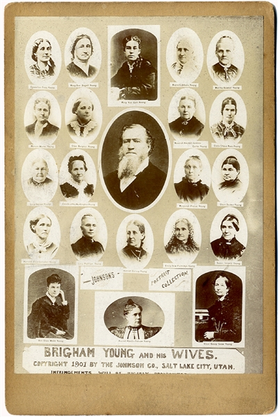 Mormon Brigham Young's Wives