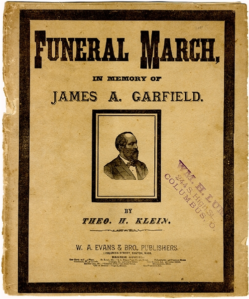 James Garfield Funeral March