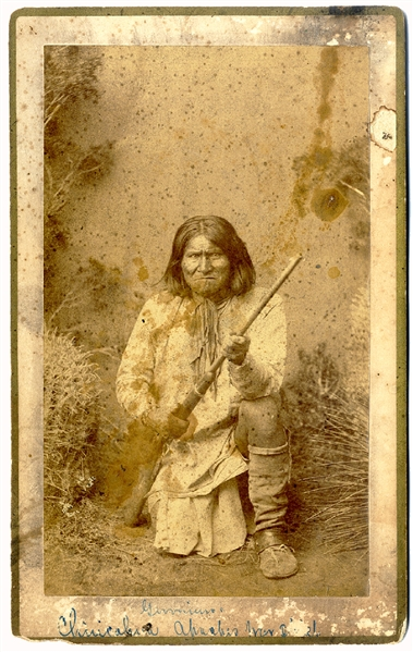 Taken Shortly After Geronimo Returned to the Reservation