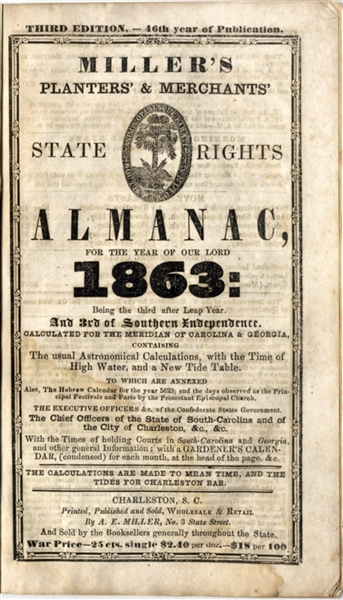 Confederate State Rights Imprint