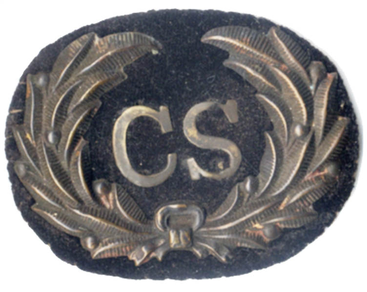 Confederate Hat Badge