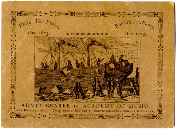Celebrating the Boston Tea Party