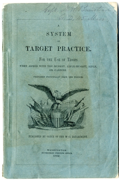 45th Massachusetts Officer's Tactical Manual