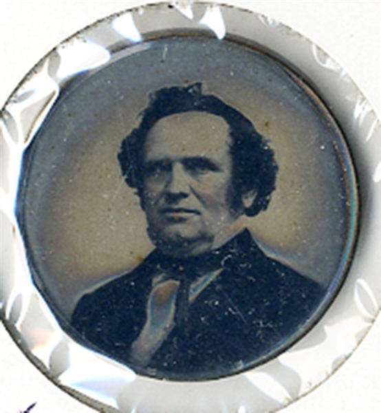 Rare Ferrotype of Stephen Douglas