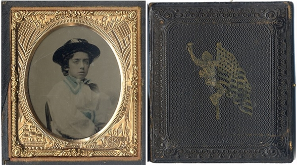 Ambrotype of Powder Monkey