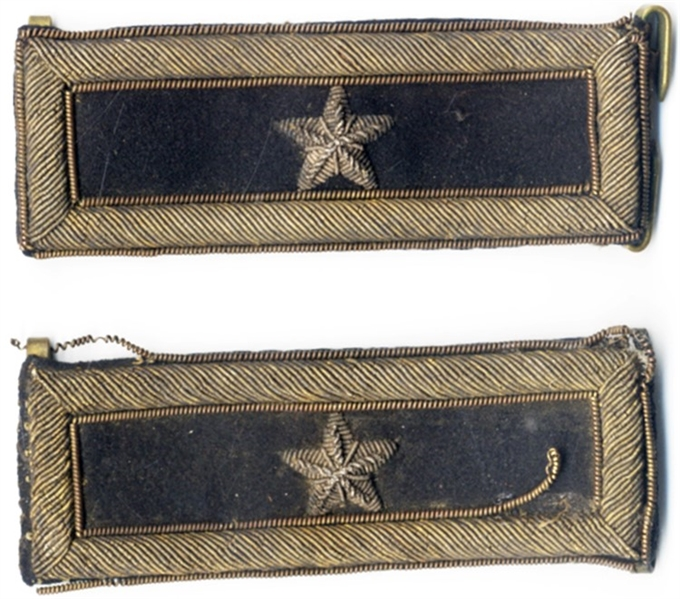 Brigadier General's Shoulder Boards