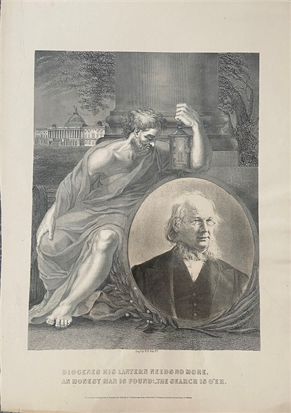 Allegorical Lithograph