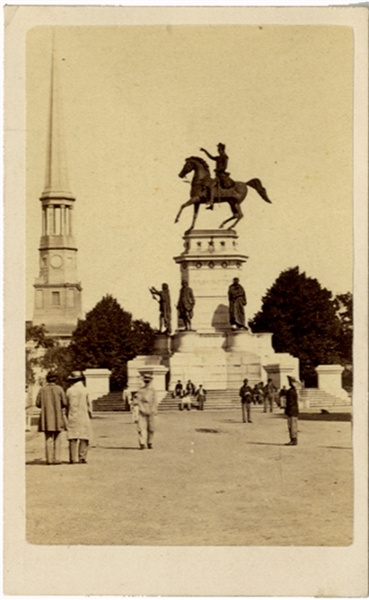 George Washington Monument CDV