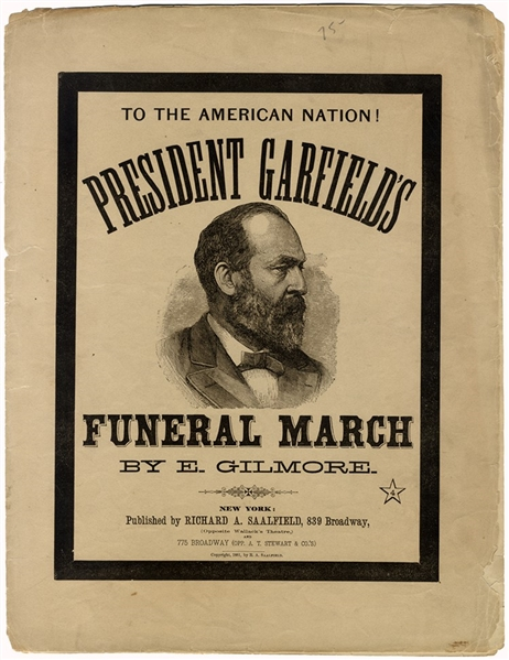 The Funeral March of the Assassinated President