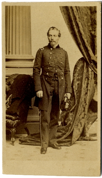 CDV of Confederate General P.G.T Beauregard
