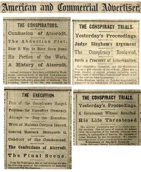 Trial and punishment of the Lincoln assassination conspirators