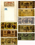 Eight Pieces of Confederate Money