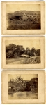 Three Alexander Gardner Antietam Albumen Photographs