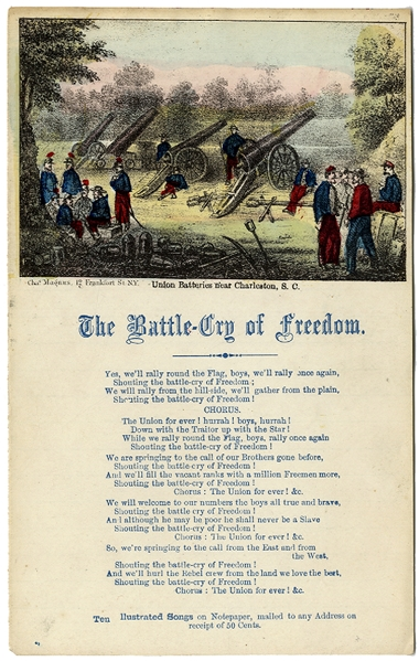 """The Battler Cry of Freedom"""
