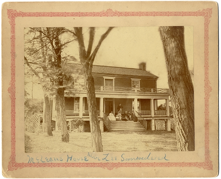 Photograph of the House That General Lee Surrendered in at Appomattox