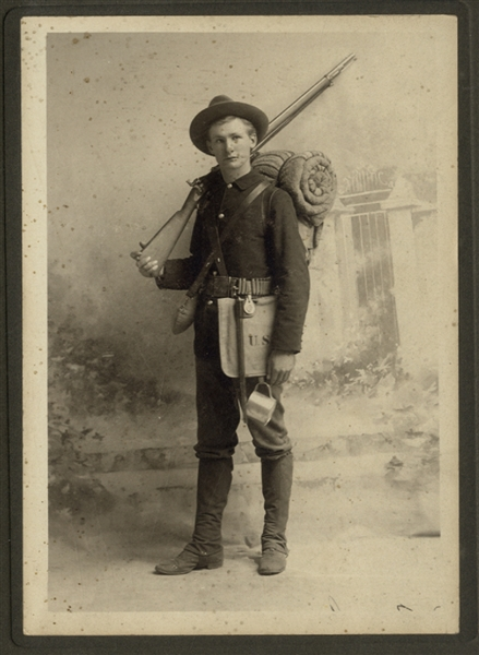 Span Am Soldier Photograph