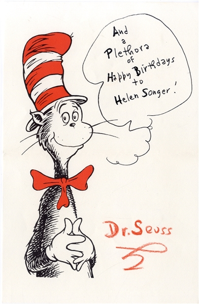 Personalized Dr. Seuss Note