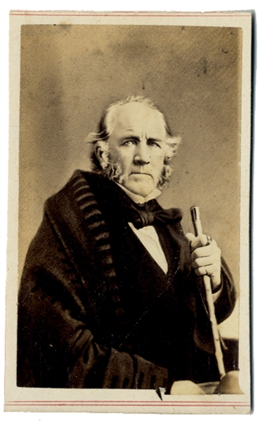 Fredericks CDV of Sam Houston