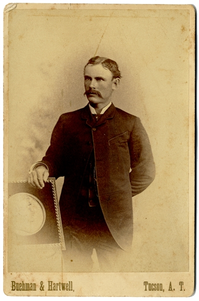 Cabinet Card Photograph of Harry Buehman