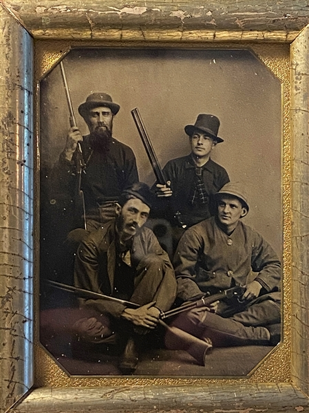 Riflemen Party Tintype