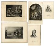 British Spy Major John Andre Engraving Collection