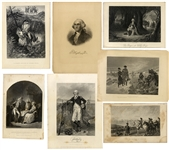 Collection of Revolutionary War Related Scenes