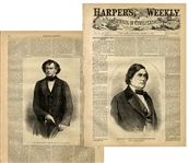 Two Future Confederate Cabinet Members Highlight in Harpers Weekly