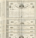 Unused South Carolina Bonds