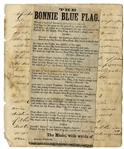 A Confederate Music Sheet