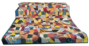 Beautiful Quilt Made From Graduation Hoods Given To Catton