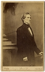 Jefferson Davis CDV By Mathew Brady