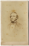 Rare CDV of Texas Hero and Confederate General Benjamin McCulloch
