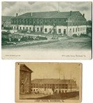 CDV and Postcard of Libby Prison