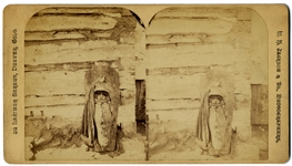 Stereoview of Papoose by Jackson
